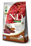 N&D DOG QUINOA SKIN & COAT VENISON 800G