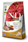 N&D DOG QUINOA SKIN & COAT QUAIL 800G