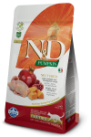 N&D CAT PUMPKIN NEUTERED QUAIL & POMEGRANATE 1,5 KG
