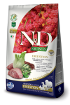 N&D DOG QUINOA DIGESTION LAMB & FENNEL 2x7 KG
