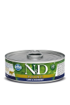 N&D CAT PRIME LAMB & BLUEBERRY ADULT 80G