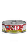 N&D CAT QUINOA DUCK & COCONUT ADULT 80G
