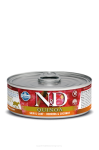 N&D CAT QUINOA HERRING & COCONUT ADULT 80G