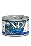 N&D DOG OCEAN SALMON & CODFISH ADULT MINI 140G