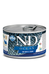 N&D DOG OCEAN SEA BASS & SQUID ADULT MINI 140G