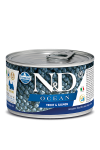 N&D DOG OCEAN TROUT & SALMON ADULT MINI 140G