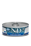 N&D CAT OCEAN SEA BASS & SQUID SHRIMPS ADULT 80G