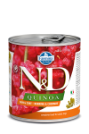 N&D DOG QUINOA HERRING & COCONUT ADULT 285G