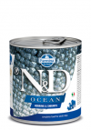 N&D DOG OCEAN HERRING & SHRIMPS ADULT 285G