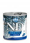 N&D DOG OCEAN SALMON & CODFISH ADULT 285G