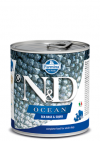 N&D DOG OCEAN SEA BASS & SQUID ADULT 285G