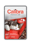 CALIBRA NEW PREMIUM CAT ADULT CHICKEN & BEEF 100 G
