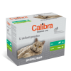 CALIBRA NEW PREMIUM MULTIPACK STERILISED CAT 12 x 100 g