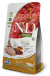 N&D CAT QUINOA SKIN & COAT QUAIL 2X5 KG