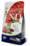 N&D CAT QUINOA DIGESTION LAMB & FENNEL 2X5 KG