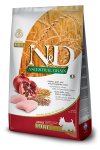 FARMINA N&D ANCESTRAL GRAIN DOG CHICKEN, SPELT, OATS AND POMEGRANATE ADULT MINI 800G