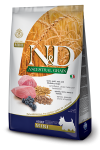FARMINA N&D ANCESTRAL GRAIN DOG LAMB, SPELT, OATS AND BLUEBERRY ADULT MINI 2.5KG