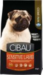 CIBAU Sensitive Lamb Mini 800g + 800g gratis