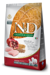 Farmina N&D ANCESTRAL GRAIN DOG CHICKEN, SPELT, OATS AND POMEGRANATE SENIOR MEDIUM MAXI 12KG