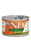N&D DOG DUCK & PUMPKIN ADULT MINI 140G