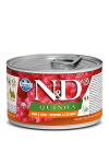 N&D DOG QUINOA HERRING & COCONUT ADULT MINI 140G