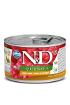 N&D DOG QUINOA QUAIL & COCONUT ADULT MINI 140G