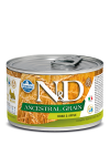 N&D DOG ANCESTRAL GRAIN BOAR & APPLE ADULT MINI 140G