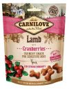 Carnilove Snack Fresh Crunchy Lamb+Cranberries 200g