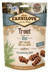 Carnilove Snack Fresh Soft Trout+Dill 200g