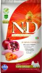 N&D GF PUMPKIN CHICKEN&POMEGRANATE ADULT MINI 800g