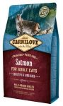 Carnilove Cat Salmon Sensitive & Long Hair - łosoś 400g